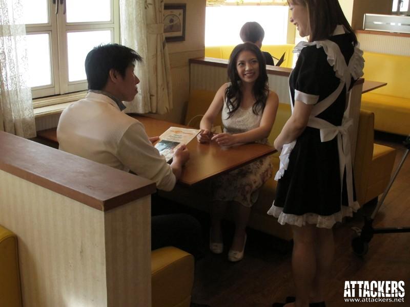 痴漢レストラン こんな所で…なのに、なのに私ったら…! 織田真子 の画像8