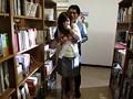 かすみ果穂 図書館の本棚の影でハメハメにはまる主婦