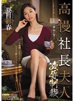高慢社長夫人 凌辱制裁 夏目彩春 ダウンロード