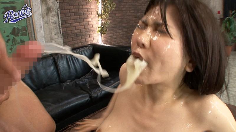 世界一ザーメンを大量に発射する男たちのぶっかけSEX 沖田杏梨 の画像8