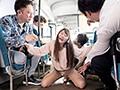 彼女がバスで痴漢されていたので止めに入ろうとしたら彼女が嬉ションするほど感じてしまい、戸惑って何もできない僕。 三原ほのか