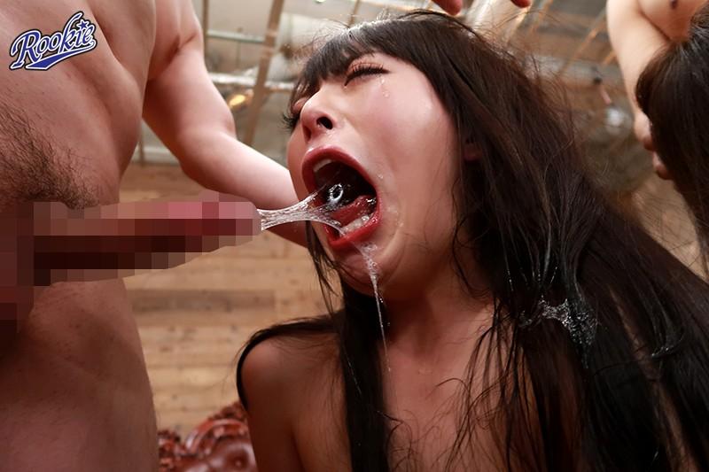 世界で一番喉奥に射精するイラマチオ 藍川美夏 黒木いくみ 画像10枚
