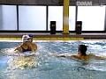 スイミングインストラクターレ●プ 水の中の果肉 麻生早苗 No.7