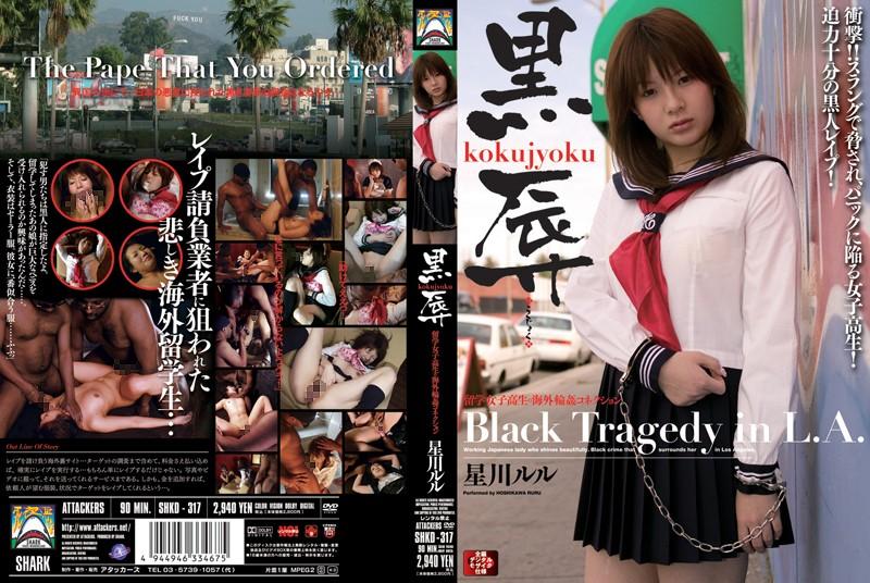 黒辱 留学女子校生の海外輪姦コネクション 星川ルル