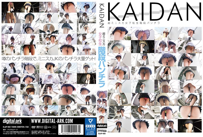 [SLAP-002] KAIDAN 超ミニスカ女子校生階段パンチラ