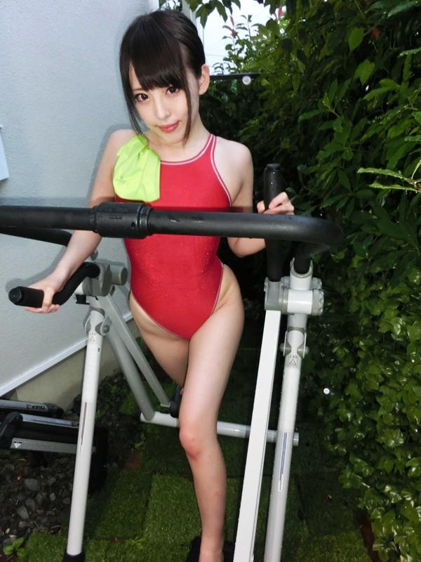 水着マニア×変態ドM美女 栄芽理奈 超従順なスポーツガールを巨根膣奥メッタ突きハードファック!