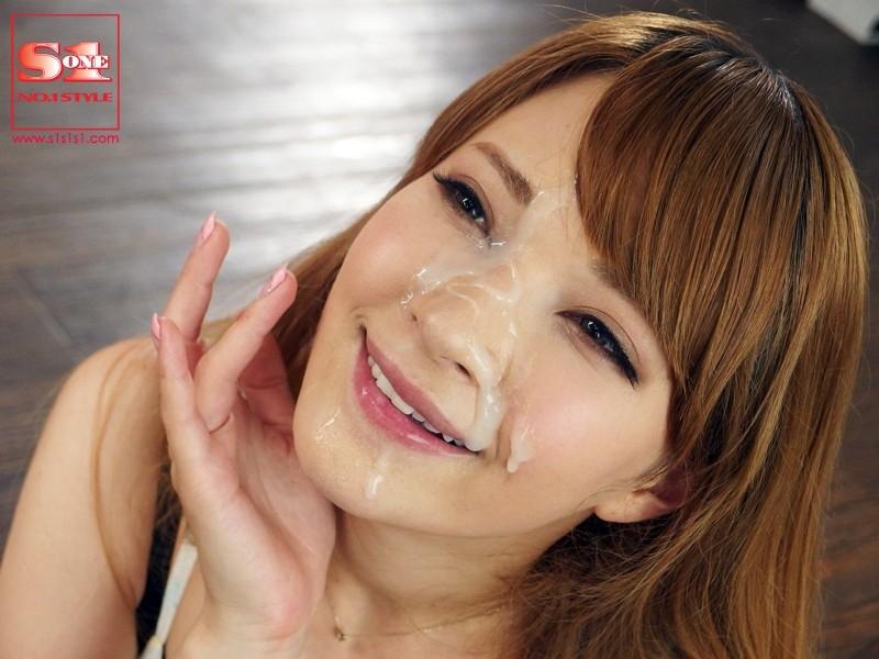 AV女優の大量顔射画…