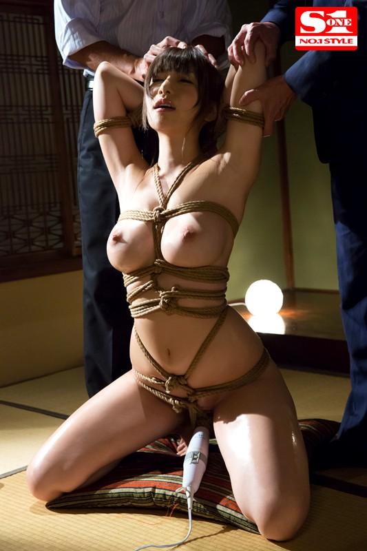 葵 完全緊縛されて無理やり犯された巨乳若妻サンプルイメージ1枚目