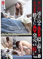 ナンパ連れ込みSEX隠し撮り・そのまま勝手にAV発売。するドSな年下くん Vol.8
