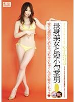 「NO.1STYLE×ギリモザ 長身美女と短小包茎男 かすみりさ」のパッケージ画像