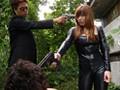 秘密捜査官の女 心身を緊縛された巨乳謀報員 上原保奈美 サンプル画像2