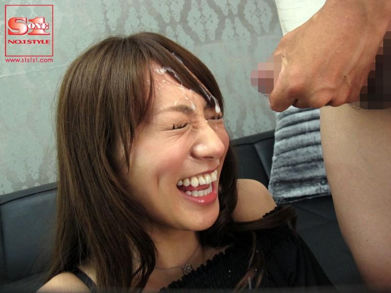 ものすごい顔射、ものすごいお掃除フェラ 香西咲 の画像5