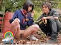 学校を抜けだし「躾てください」と、涙目でおねだりする羞恥露出好きJKのうぶアナルを 野外訓育二穴責め! 小泉まり 14