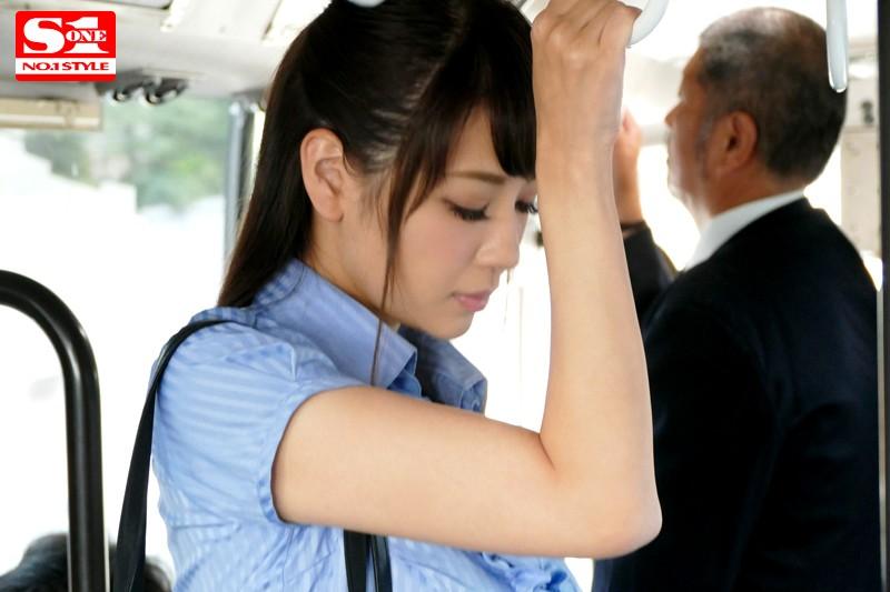 JカップOL 強・制・挿・入 揉みしだき満員痴漢バス RION