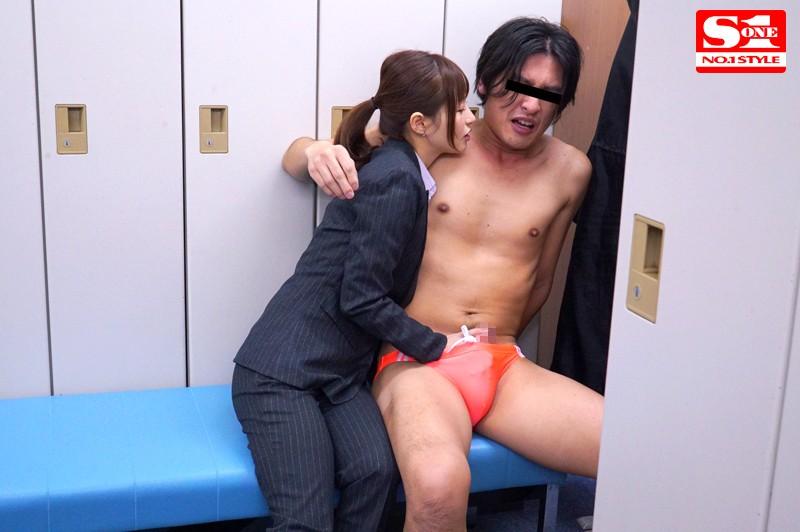 素人男性を彼女のすぐそばで寝取る… カップルNTR密着誘惑性交 天使もえ の画像8