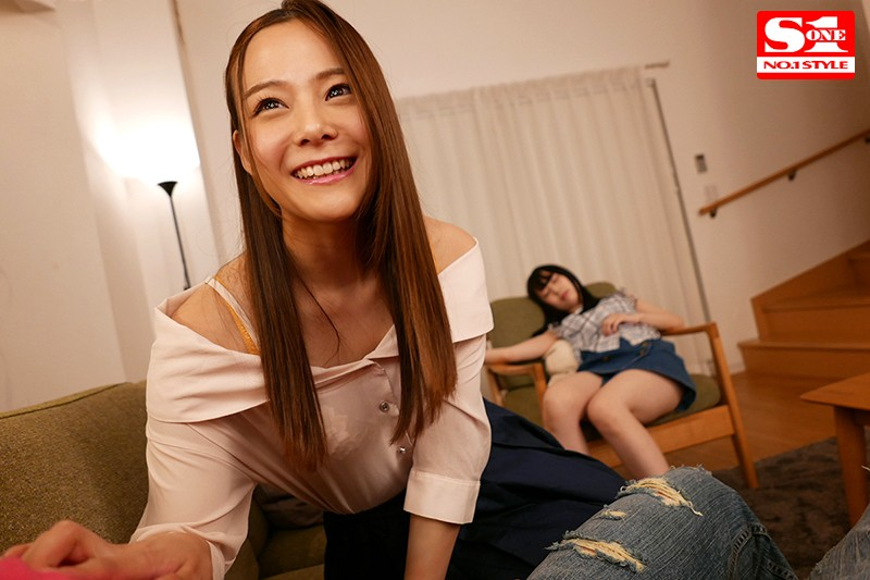 彼女の美人お姉さんが全力で欲求不満アピールしてきて、こっそり浮気セックス 吉高寧々 画像10枚