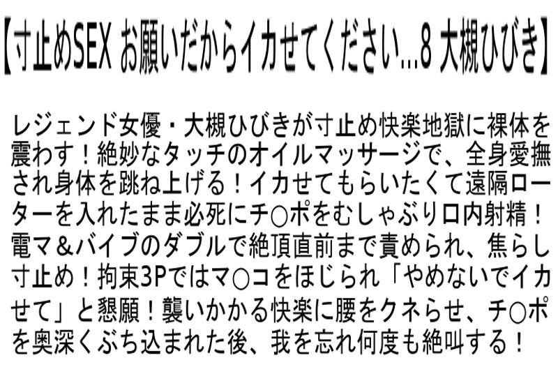 【お得セット】寸止めSEX お願いだからイカせてください… 森沢かな 大槻ひびき 波多野結衣 の画像8