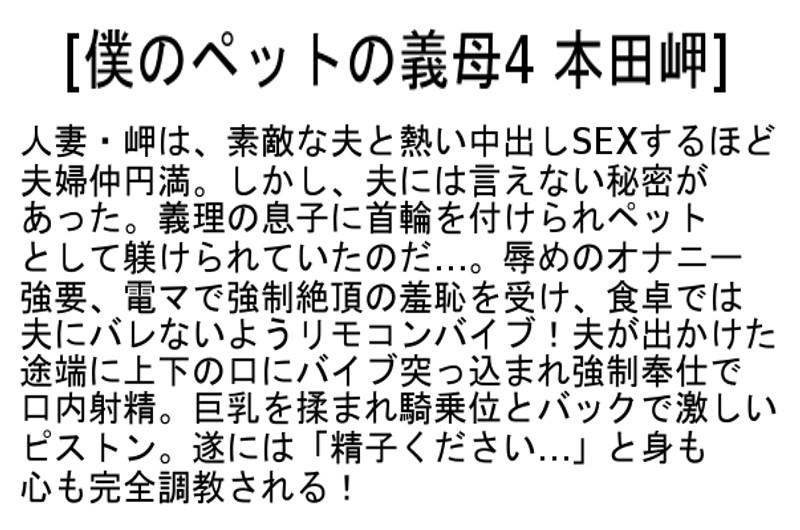 【お得セット】僕のペットの義母 児玉るみ 本田岬 桐嶋りの の画像17