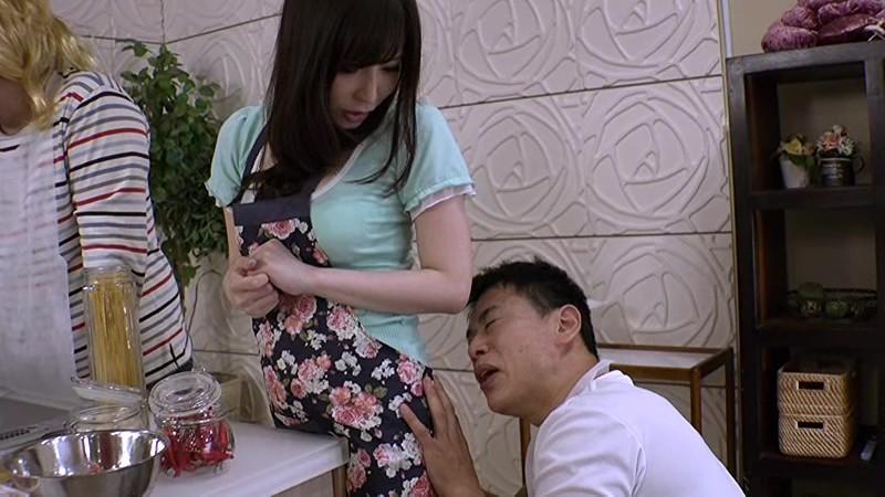 Hカップの綺麗なお姉さん彩さんは、セクハラされまくりのお料理教室講師 の画像19