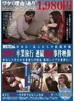渋谷区・犯人からの投稿映像 悪夢の卒業旅行 連続強姦事件映像 仲良し大学生の卒業旅行が暗転!集団レイプの悪夢に…