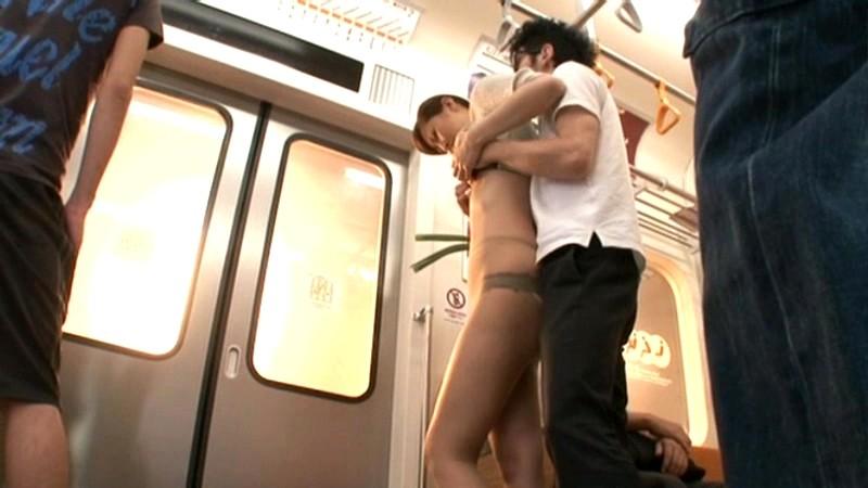 わいせつ痴○電車妻
