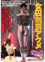 女囚刑罰アクメ file.4 ダウンロード