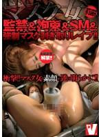 マスク女監禁&拘束&SM&強制マスク剥ぎ取りレイプ!!