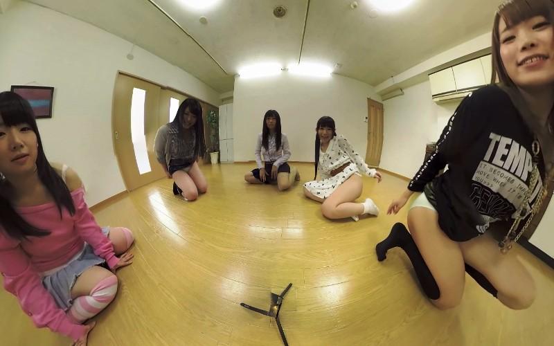 大槻ひびきの無料動画 【VR】セクシーハーレム ちょっとHなハプニングVol.2