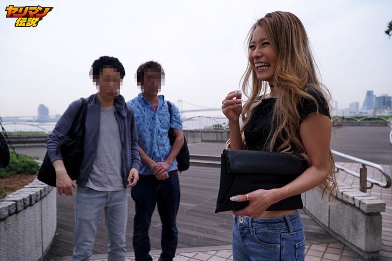 自薦!渋谷だけで100人とSEXした街角捕食系ヤリマンギャルがセフレ同伴&逆ナン&スタッフ誘惑でハメまくり マリ