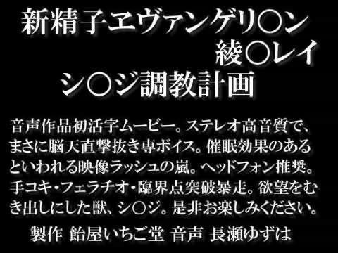 【漫画 / アニメ同人】新精子ヱヴァンゲリ○ン 綾○レイ シ○ジ調教計画