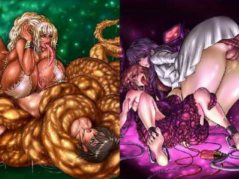 【オリジナル同人】魔境人境淫語 人外娘と痴女の囁き Vol.1 ラミア・女性科学者