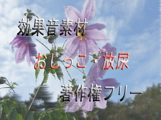 【オリジナル同人】[効果音素材] おしっこ・放尿 [著作権フリーSE]