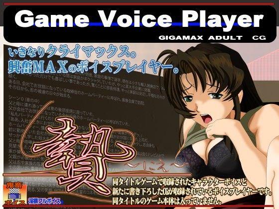 【オリジナル同人】Game Voice Player