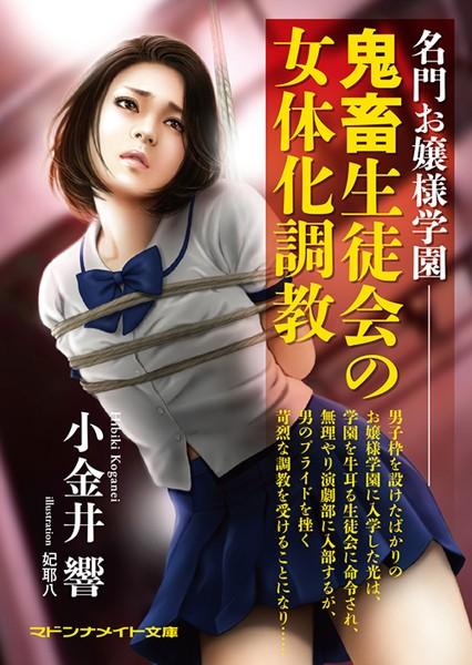 名門お嬢様学園 鬼畜生徒会の女体化調教 (小説)