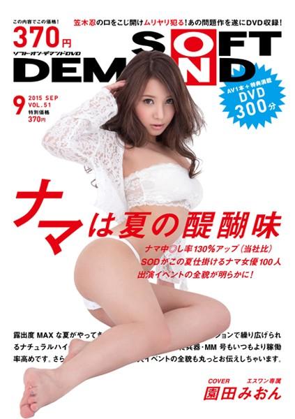 月刊ソフト・オン・デマンド 2015年09月号