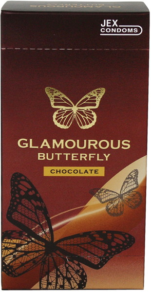 グラマラスバタフライ チョコレート 500 6コ入