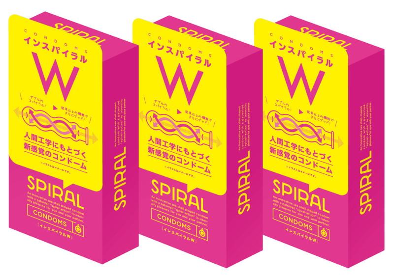 SPIRAL[インスパイラルW]6個入り×3箱セット