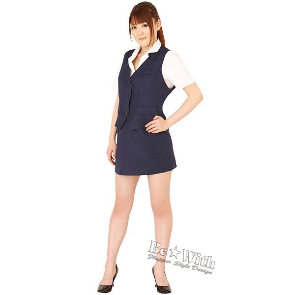 密室秘書LLサイズ シースルーピンクのブラウスのセレクタリー制服