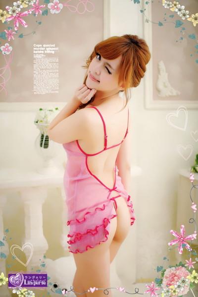 【胸きゅんランジェリー】ピンク色の夢をあなたに〜Falling Love With U〜