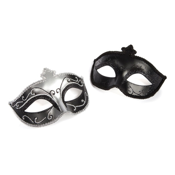 MASKS ON マスクス オン(マスカレードマスク ツインパック)-Fifty Shades of Grey THE OFFICIAL PLEASURE COLLECTION-