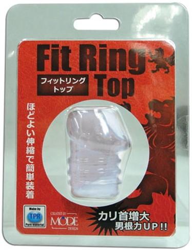 フィットリング トップ【ミルキーホワイト】