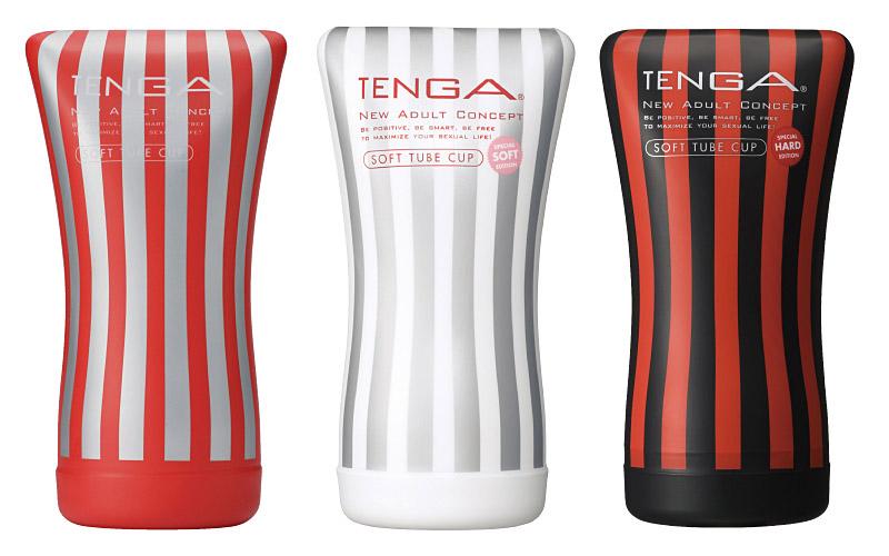 TENGA SOFT TUBE CUP COMPLETE SET