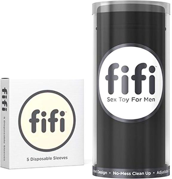 FIFI本体使い捨てスリーブ5枚付/ブラック