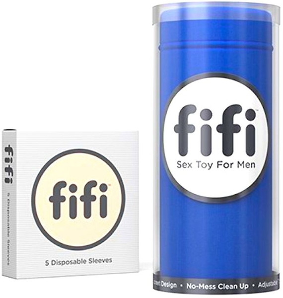 FIFI本体使い捨てスリーブ5枚付/ブルー