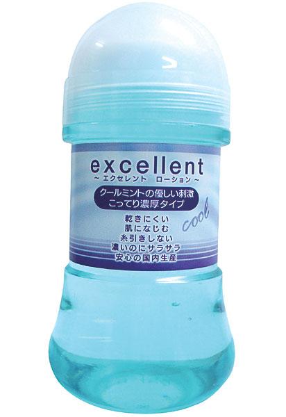 温感・冷感タイプ「エクセレントローション クールミント こってり濃厚タイプ 150ml」(EXE)