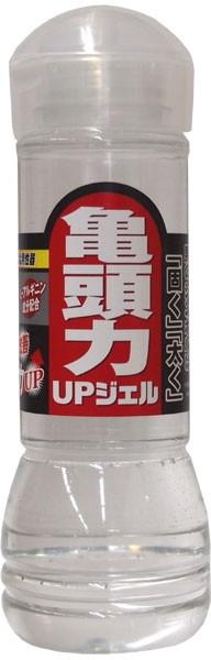ローション「亀頭力UPジェル 300mL」(ワールド工芸)