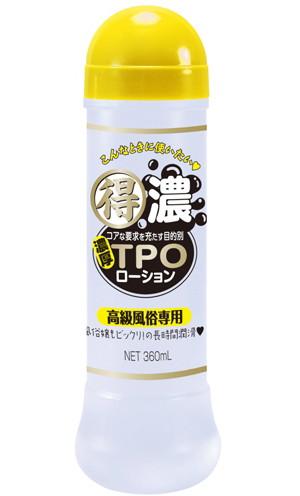 ローション「得濃TPOローション 高級風俗専用 360ml」(日暮里ギフト(NPG))