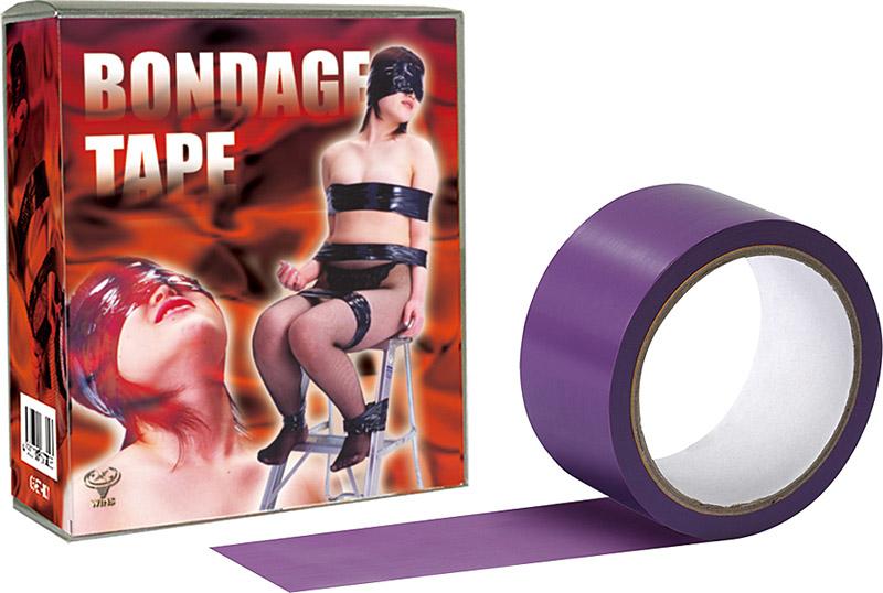 SMグッズ「ラブクラウド ボンデージテープ 紫 簡単 拘束 SM テープ」(ラブクラウド)