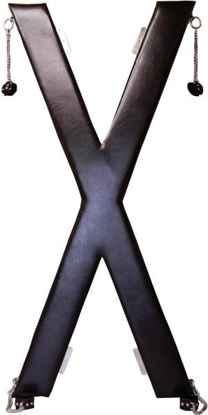 X字かせ(ブラック)