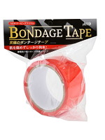 ボンデージテープ 赤 簡単拘束 非粘着SMテープ 20m使用